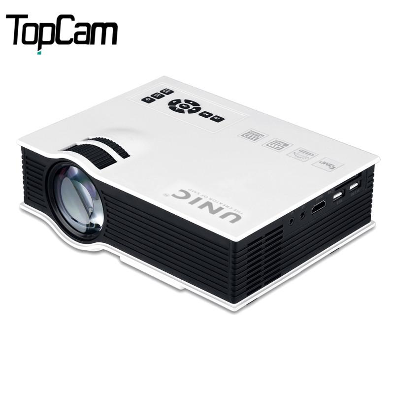 Prix pour Unic uc40 + projecteur mini pico portable projecteur home cinéma beamer multimédia uc40 hd 1080 p vidéo