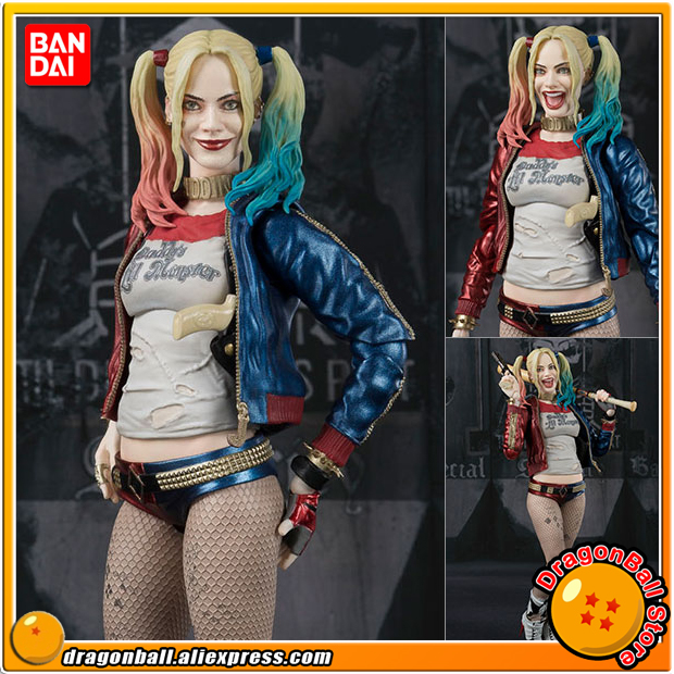 Suicide Squad Original BANDAI Tamashii Nations S.H.Figuarts / SHF Action Figure - Harley Quinn suicide squad vol 3 burning down the house rebirth