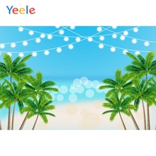 Yeele Summer Seascape Bedhead Party Green Trees Cool Photography Backdrop Personalized Photographic Backgrounds For Photo Studio
