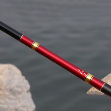 Carbon Fiber 2.7-7.2M Portable Telescopic Fishing Rod Hand Tackle River Stream WHShopping