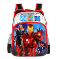 Fashion Hot Sale 14 Inch Prints Avengers Children Backpack Boys School Bags Students Mochila Bag Kids Baby Bags School Backpacks