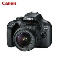 SLR Cameras Canon EOS 4000D + EF S 18 55mm DC III Black