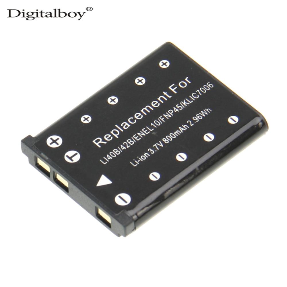 1PCS LI 40B LI40B LI 40B LI 42B EN EL10 Replacement Camera Battery For For OLYMPUS
