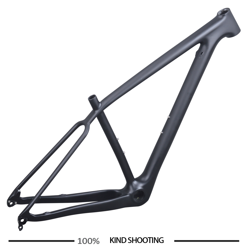New Carbon MTB Bike Frame 29er Mountain Bicycle Frame PF30 Disc Brake S M L Fram