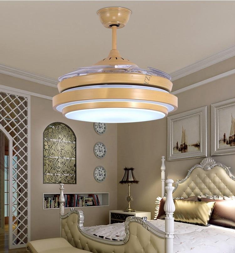 42inch frequency fan light ceiling chandelier fan with