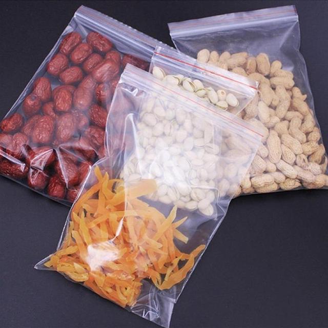 Eco Friendly Zip Locked Storage Bags