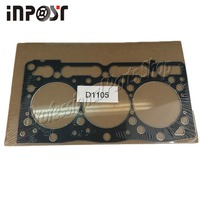Nueva Junta de culata de Metal STD para motor Kubota D1105 16261-03310