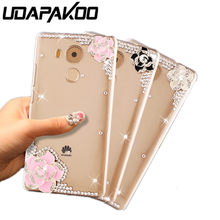For huawei honor 9 10 lite mate 20 10 9 pro P9 P10 honor 6C 7a Y5 Y7 Prime Y9 2018 P Smart Z 2019 phone case shiny crystal cover(China)