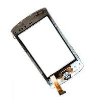 Белый для Sony Ericsson Xperia Mini ST15 ST15i планшета Сенсорный экран Панель Стекло с Рамки Рамка Замена
