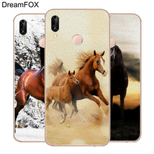 DREAMFOX M285 Running Horse Soft TPU Silicone Case Cover For Huawei Honor 6A 6C 6X 7A 7C 7S 7X 8 Lite Pro