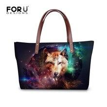 FORUDESIGNS Frauen Umhängetaschen Tumblr Mürrische Katze Galaxy Raum Mode frauen Handtaschen Damen Top-griff Weibliche Beiläufige Beutel