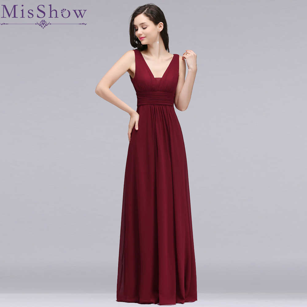 d4442c3e32d2 ... Pink Women Formal Wedding. RELATED PRODUCTS. Cheap New Women Bridesmaid  Dress Elegant V Neck Chiffon Sexy Backless Long dress for wedding party