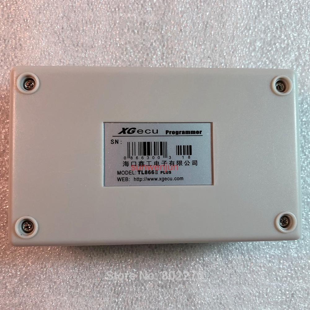 Livraison gratuite V8.51 XGecu TL866II Plus prise en charge du programmeur USB 15000 + IC SPI Flash NAND EEPROM MCU PIC AVR remplacer TL866A TL866CS - 2
