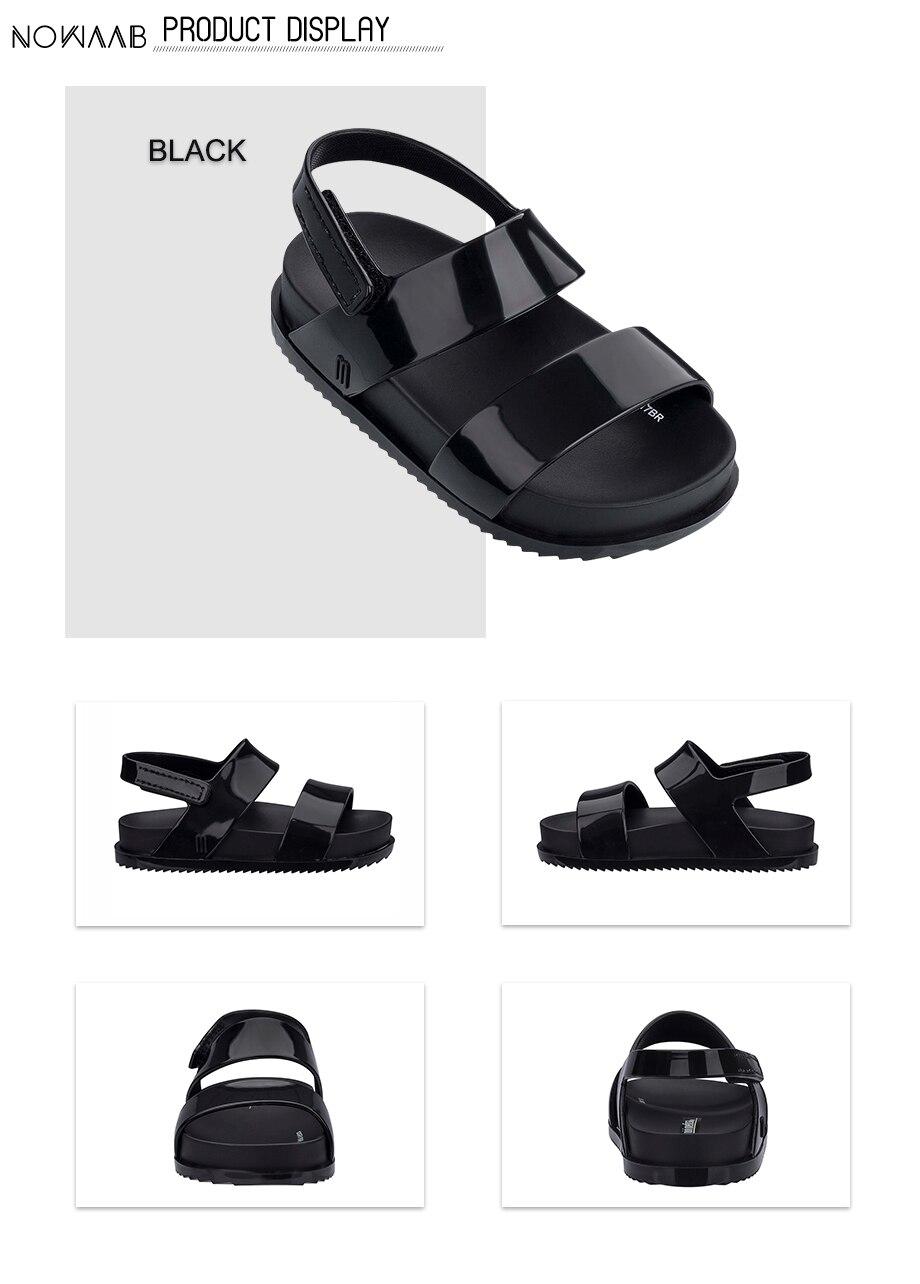 menina geléia sandálias meninos crianças sandálias de