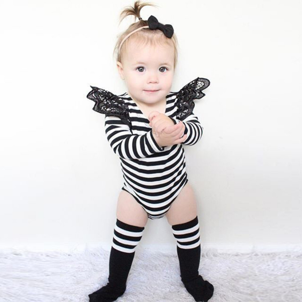 Baby Rompers Newborn Infant Cotton Long Sleeve Jumpsuits Striped Baby Girl Clothing  Fashion baby Clothes Wear new arrival newborn baby boy clothes long sleeve baby boys girl romper cotton infant baby rompers jumpsuits baby clothing set