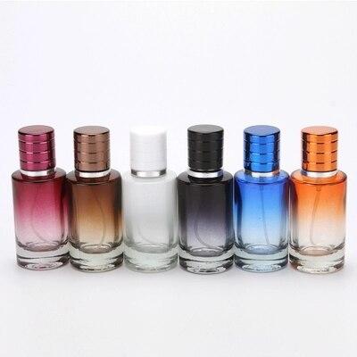 5 pçs/lote 20 ml 30 ml Frasco de Spray de Vidro Garrafa Vazia Sprayable Suficiente Odor Tamanho Viagem Portátil Reutilizar Frascos de Perfume