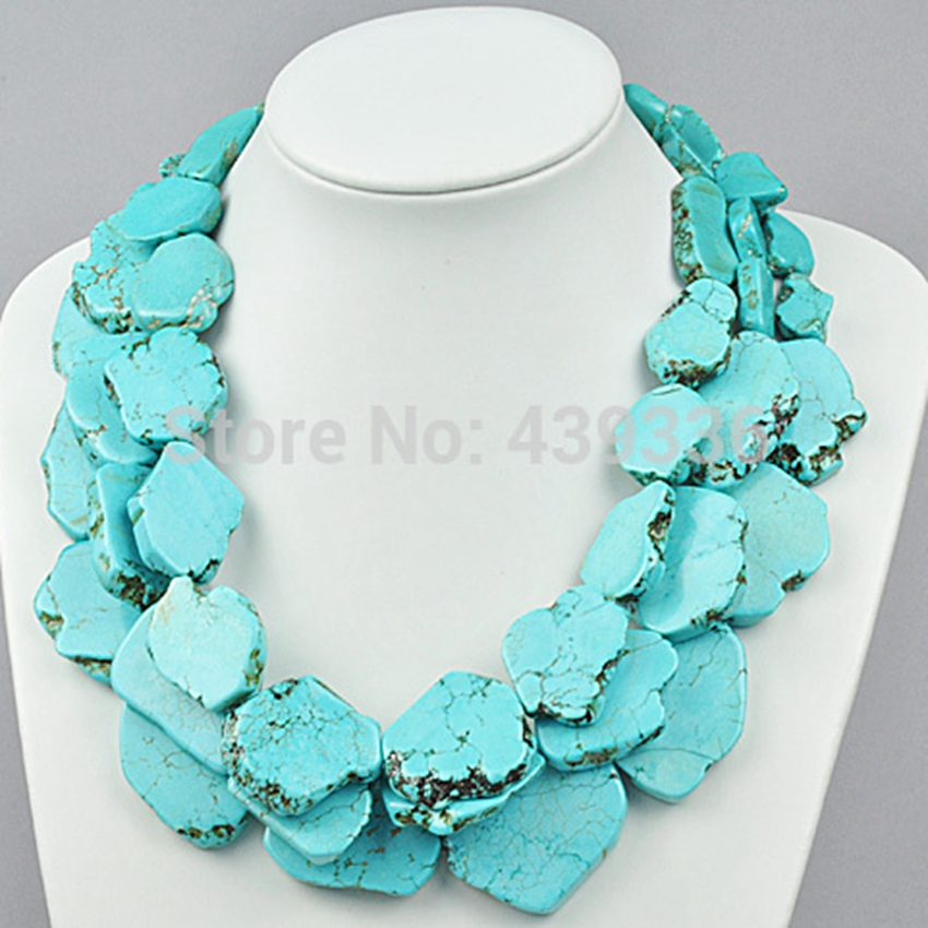 Three Layered Stone Chunky Statement Necklace graceful rhinestoned three layered v shaped necklace for women