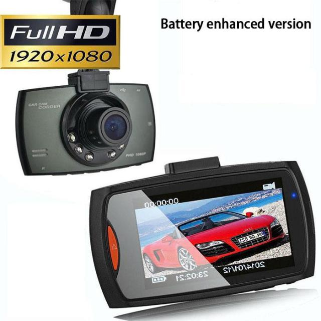 "1080P 2.4"" LCD Screen Car Vehicle Dash Cam Camera Vidoe Recorder G-Sensor Mini Camcorders"