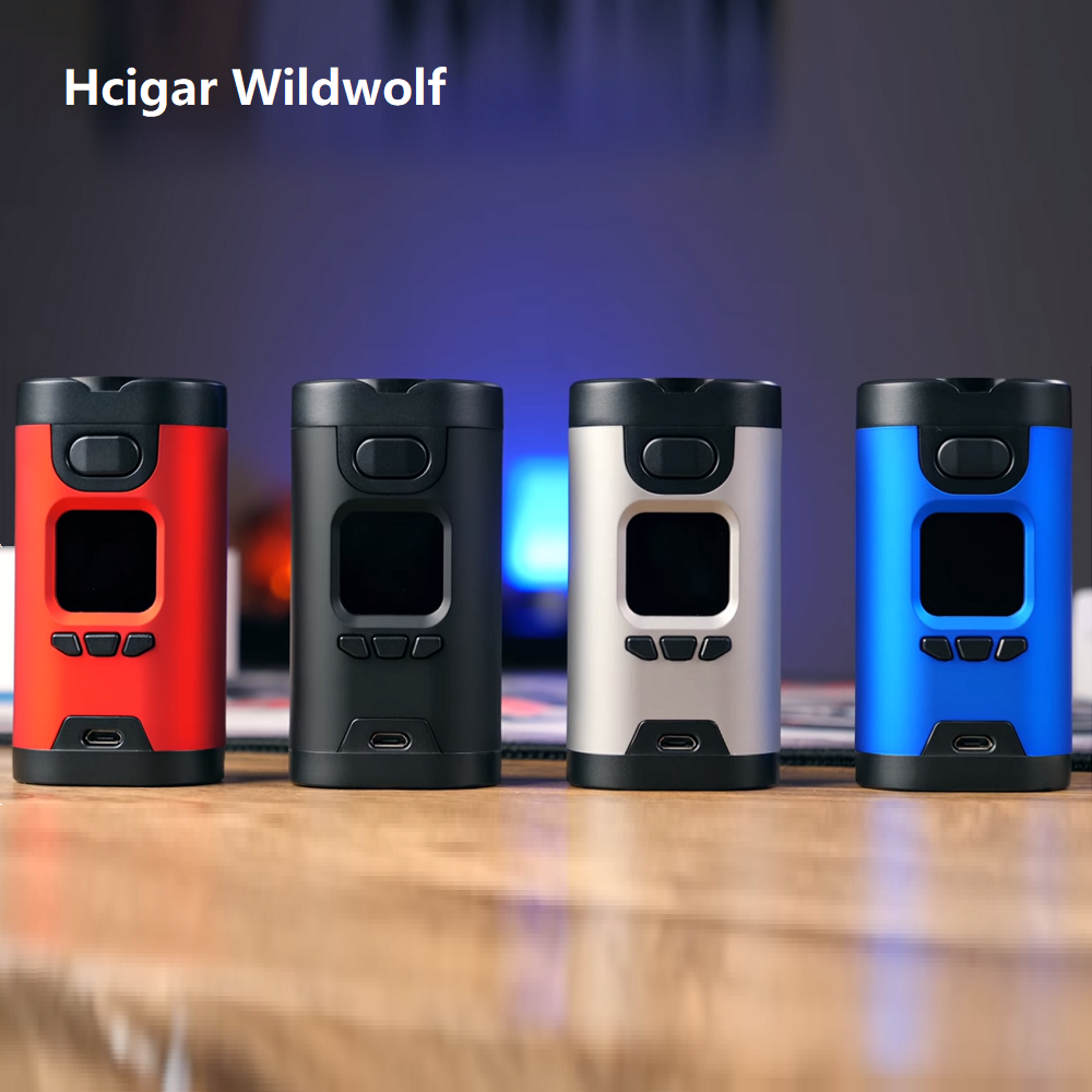 Original 235W Hcigar Wildwolf MOD with Towis XT235 Chipset 1 3 inch TFT color screen no