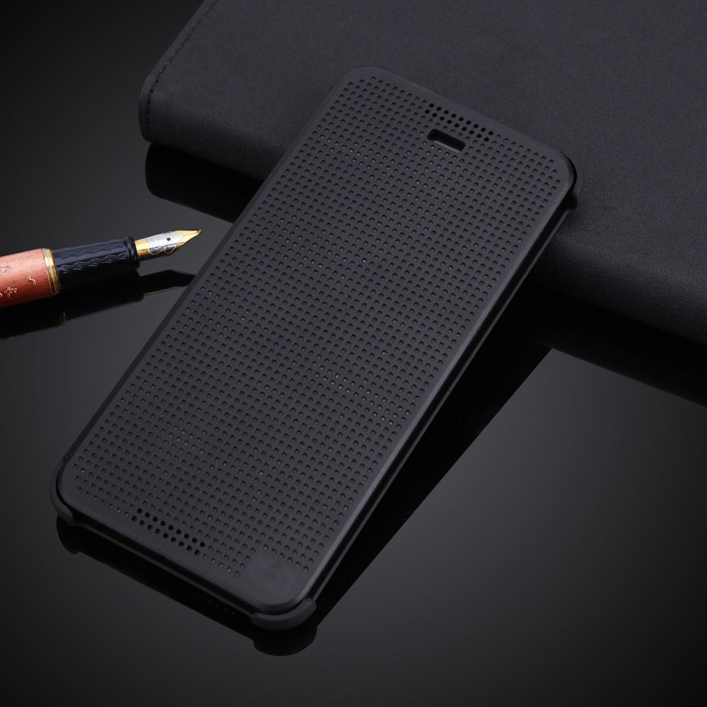 For HTC Desire 628 Flip Case Cover Without Auto Sleep Wake Function Silicon Matrix Phone Case