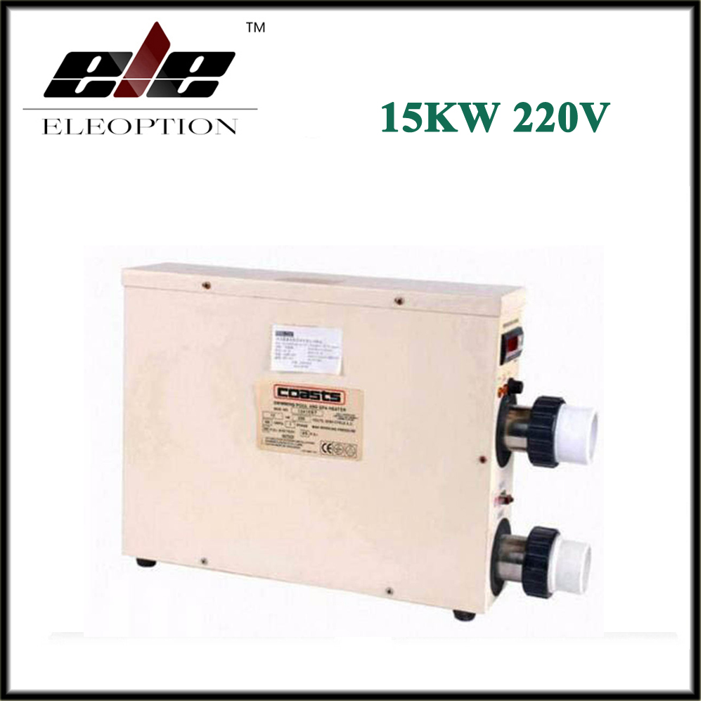 New 15KW 220V Thermostat Swimming Pool & SPA Home Bath Hot Tub Electric Water Heater  цены