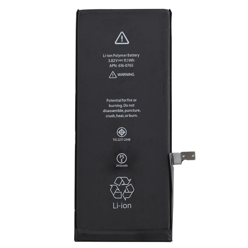 Haute Qualité Bateria 2915 mAh Pour iPhone 6 Plus 6 Plus Mobile Téléphone Rechargeable Remplacement Batterie De Secours Li-ion Batterie Baterij