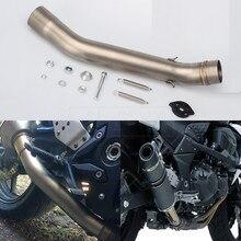 font b Motorcycle b font font b Exhaust b font Muffler Middle Pipe For Kawasaki