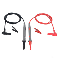 Universal Probe Test Leads Pin for Digital Multimeter Needle Tip Meter Multi Meter Tester Lead Probe Wire Pen Cable 1000V PVC стоимость