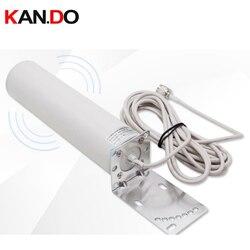 10 метровый кабель, Заводская антенна для передачи данных 12dbi 4G, наружная антенна 698-2700MHz 4G LTE антенна, всенаправленная антенна для ретранслято...