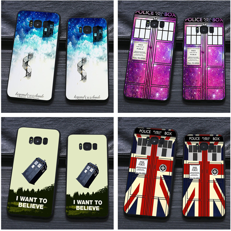 Babaite Tardis Doctor Dr Who Police Box Tpu Soft Silicone Black Phone Case For Samsung Galaxy S8 S7 Edge S6 Edge Plus S5 S9plus Numerous In Variety Cellphones & Telecommunications Half-wrapped Case