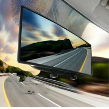 curved surface Big View rearview mirror interior rear view car free shipping