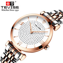 2019 New Tevise Brand Luxury Quartz Women's Watches