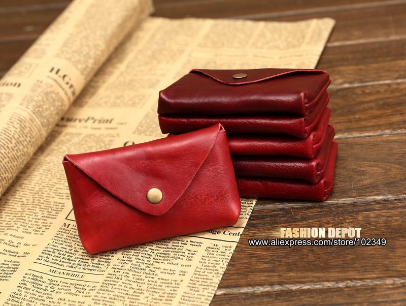 Vintage Genuine Leather Credit Card holder 19991# (1)
