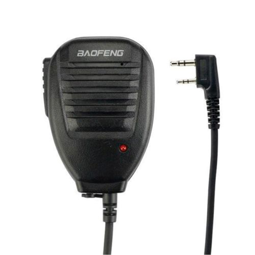 1pcs PTT Speaker Microphone  Mic Accessories For Baofeng UV-5R Bao Feng BF-888s TYT Ret