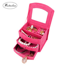 цены Free shipping  jewelry display classical  pattern casket / Senior jewelry box organizer / case for jewelry storage / gift box