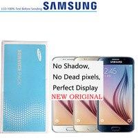 NO Burn Shadow 5.1'' Original LCDs Display For Samsung Galaxy S6 G920i G920P G920f G920V G920A G920 LCD FRAME Touch Screen