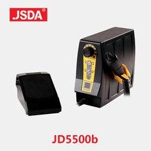 Offre spéciale JSDA JD5500B Perceuse professionnel appareil électrique pour pédicure manucure outils décoration d'ongles Équipement écran lcd 85 w 35000 rpm