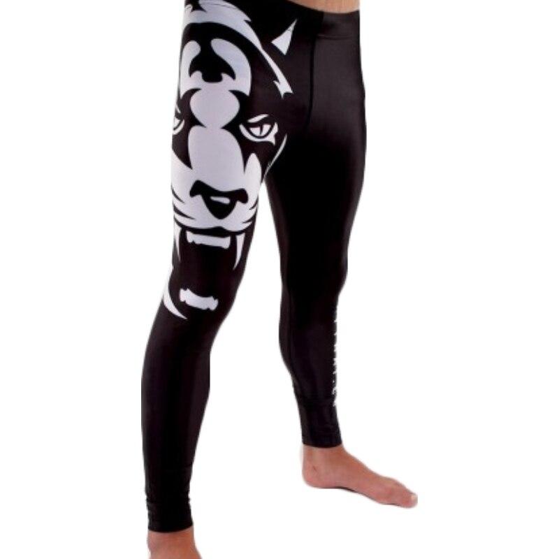 ⑥Hombres MMA Boxeo Tigre transpirable y cómodo pantalones flacos ...