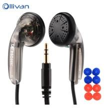 OLLIVAN ספורט אוזניות שטוח ראש אוזניות VE נזיר בתוספת אוזניות סטריאו בס אוזניות עבור Iphone XiaoMi סמסונג Huawei כל טלפונים
