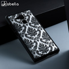 AKABEILA Flower Hollow Phone Case For Huawei Honor 5C Case GT3 Honor 7 Lite GR5 Mini Honor7 Lite Cover Hard Plastic Back Covers