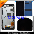 100% Tested  For Sony  Xperia  Z3 mini LCD Z3 compact  LCD Display Touch Screen Digitizer Assembly  Frame +Back Cover