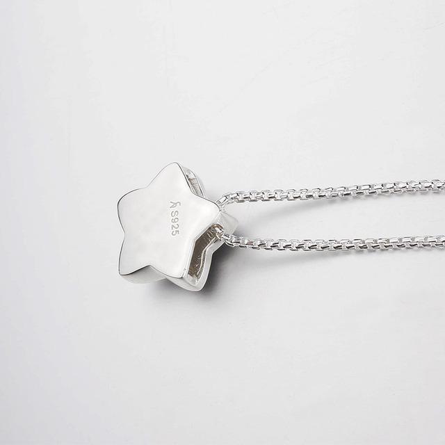 Black Star Pendant Necklace