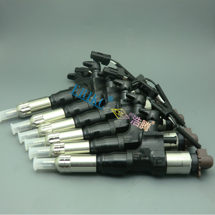 ERIKC 6352 diesel fuel injector 095000 6352 and common rail nozzle Excavator injection assemblies 0950006352 for