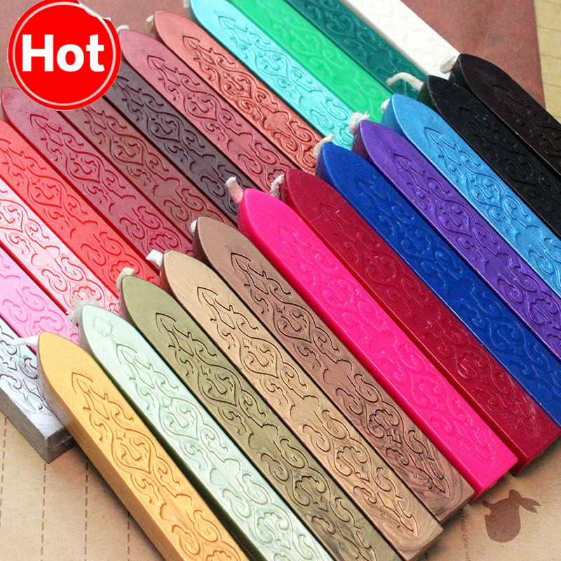 DIY Sealing Strips Seal Dedicated Beeswax Stick Branding Paint Stamp Seal Wax Envelope Handmade Hobby DIY Tools