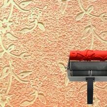 Уолл-печать плесень 7 дюймов pattened ролик для украшения стен tetuxed no. 118