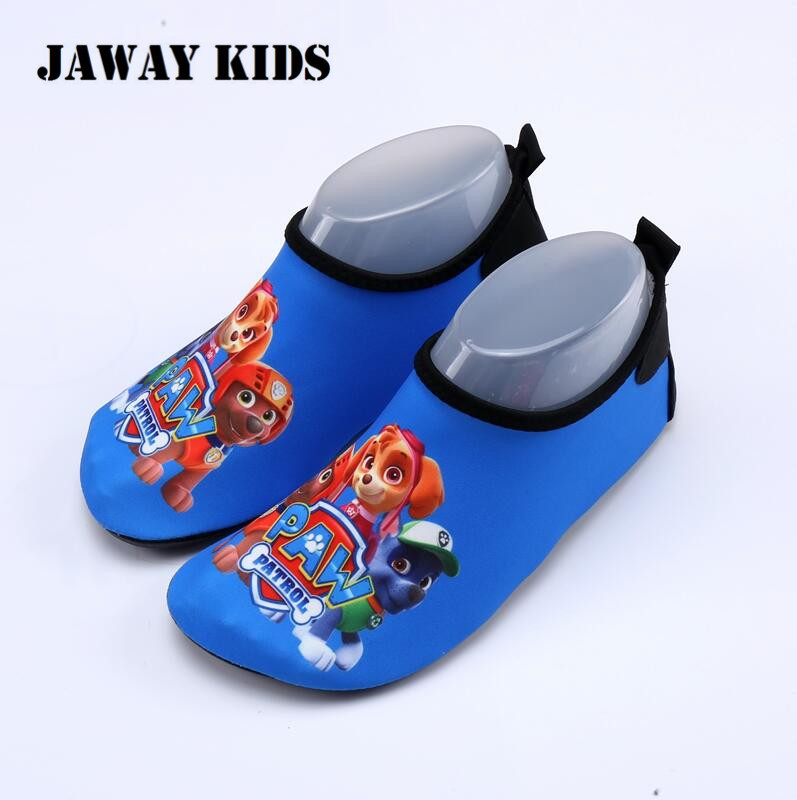 JawayKids Kids Water Shoes For Girls And Boys Cartoon Shoes Children Swimming Sneakers Child Barefoot Indoor Shoes