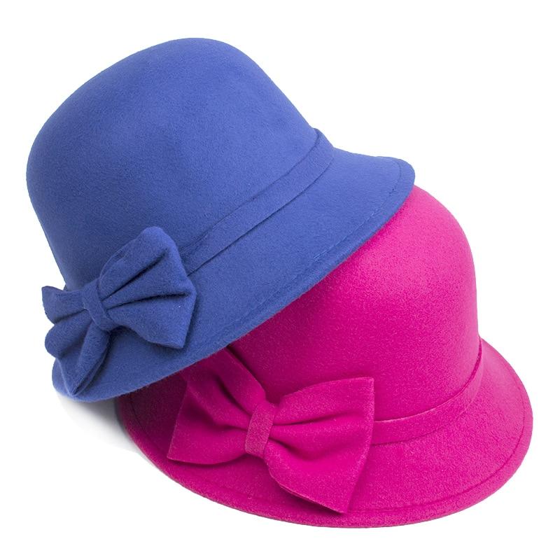 [DINGDNSHOW] 2019 Բրենդ Fedora Hat Մեծահասակ բուրդ - Հագուստի պարագաներ - Լուսանկար 3