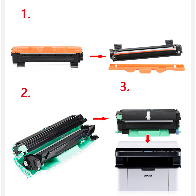 Image 4 - DR1000 for Brother TN1000 toner cartridges MFC1810 1910 DCF1510 1610 HL1110 1210 DCP 1511 1512 MFC 1815 Printer-in Toner Cartridges from Computer & Office