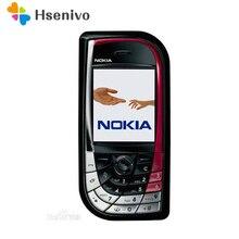 Разблокированный Nokia 7610 розовый мобильный телефон GSM трехдиапазонная камера Bluetooth мобильный телефон с английской/русской/Арабской клавиатурой