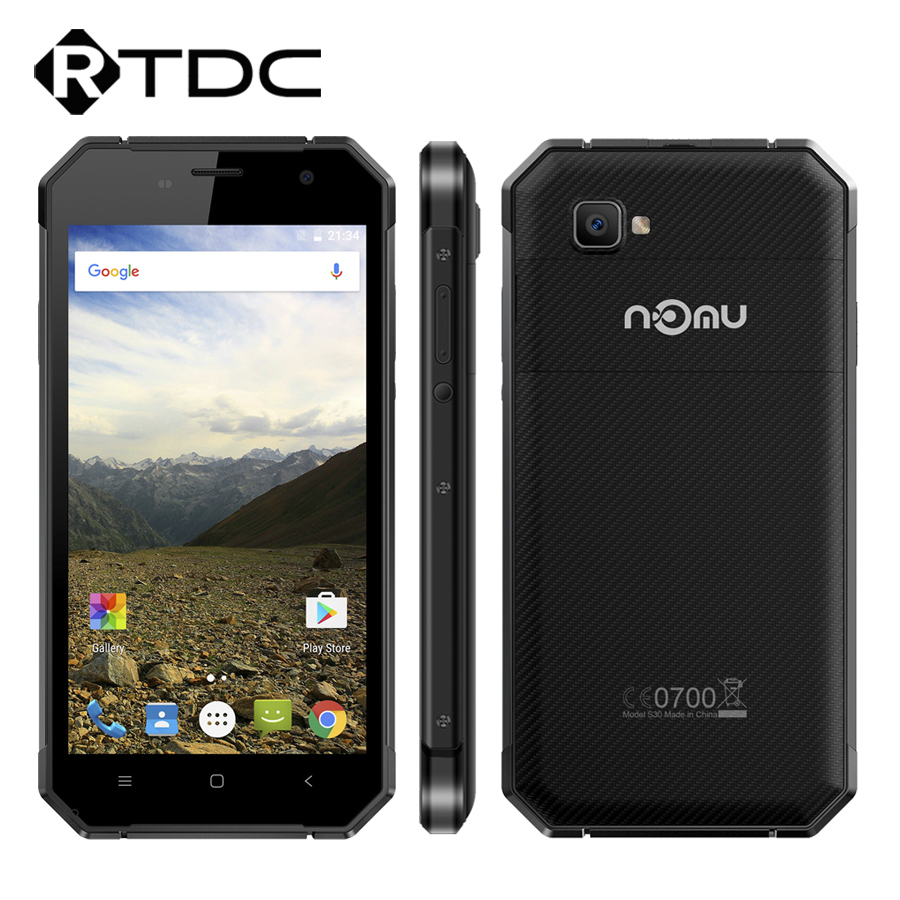 "Цена за Оригинал Ному S30 5.5 ""FHD MTK6755 Окта основные Android 6.0 4 ГБ RAM 64 ГБ ROM 1920*1080 NFC 5000 мАч Водонепроницаемый 4 Г LTE Mobile телефон"